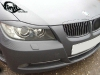 Полная обтяжка автомобиля BMW виниловой плёнкой под карбон (плёнка 3D)
