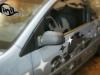Обтяжка плёнкой накладок на зеркала под карбон на Ford Fiesta