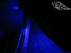 Подсветка салона автомобиля в синий цвет - подсветка дверей