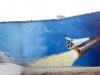 Граффити оформление - Самое большое граффити в России - здание РИА Новости