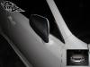 Обтяжка плёнкой под карбон накладок на зеркало Lexus