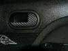 Обтяжка плёнкой ручек дверей под карбон на Ford Fiesta
