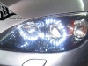 Ангельские глазки для Mazda 3 - тюнинг оптики