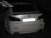 Обтяжка плёнкой под карбон спойлера и тонировка фонарей Lexus