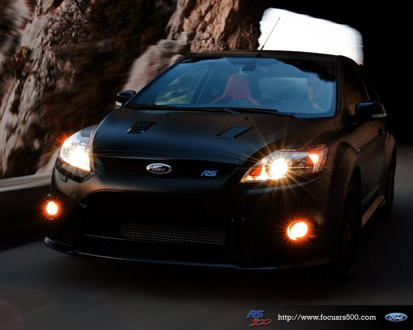 Авто новинка: матовый Ford Focus RS