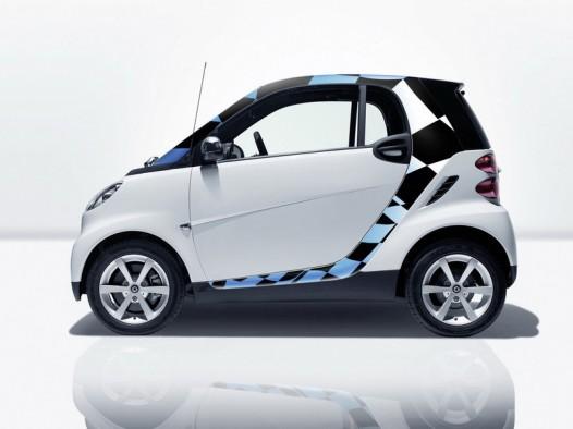 Smart выбирает авто винил и Brabus