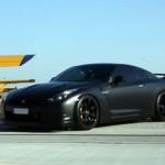 2784758 150x150 Полная обтяжка чёрной матовой виниловой плёнкой Nissan GT R