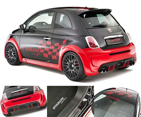 Тюнинг Fiat 500 Abarth